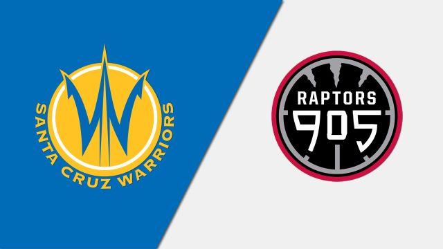 Santa Cruz Warriors vs. Raptors 905