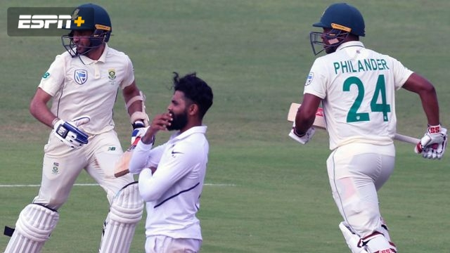 India vs. South Africa (2nd Test - Day 4)