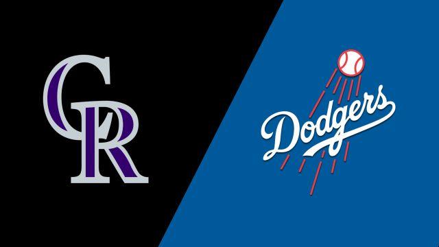 Colorado Rockies vs. Los Angeles Dodgers