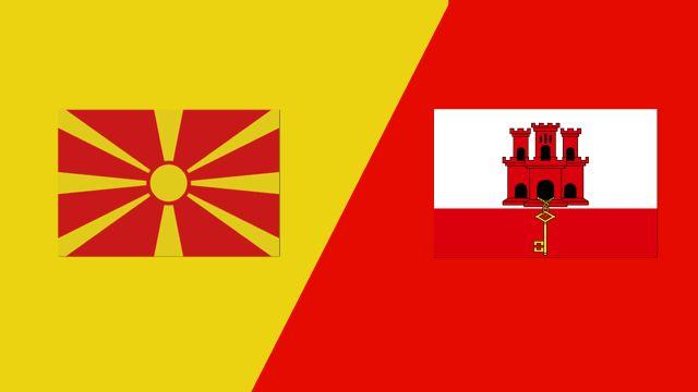 FYR Macedonia vs. Gibraltar (UEFA Nations League)