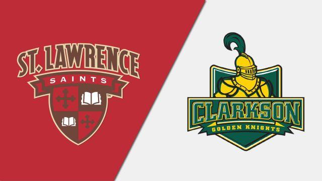 St. Lawrence vs. #5 Clarkson (W Hockey)