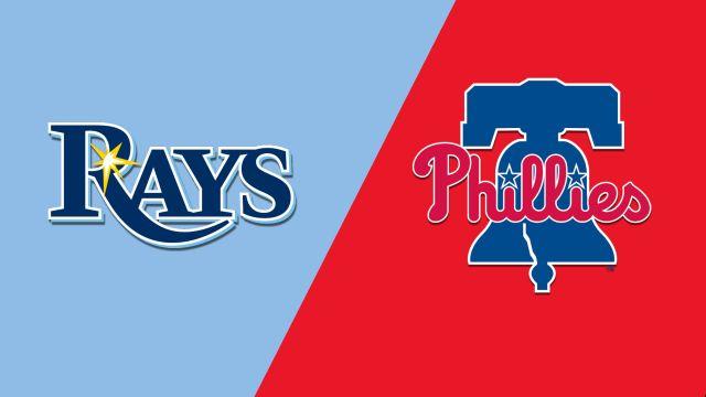 Tampa Bay Rays vs. Philadelphia Phillies