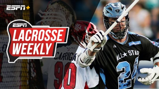 Tue, 9/3 - Lacrosse Weekly: How John Grant Jr. still scores at 44