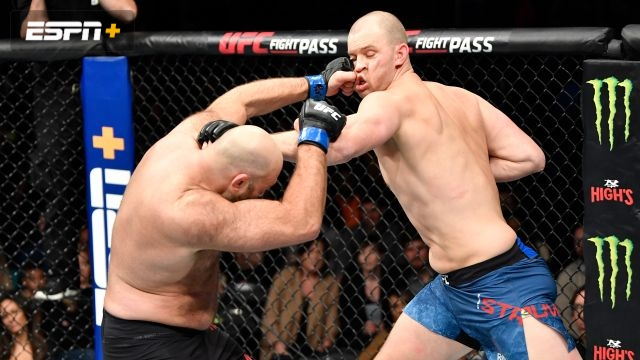 Stefan Struve vs. Ben Rothwell (UFC Fight Night: Overeem vs. Rozenstruik)