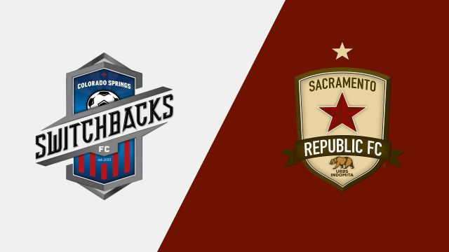 Colorado Springs Switchbacks FC vs. Sacramento Republic FC