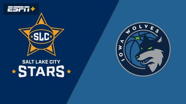 Salt Lake City Stars vs. Iowa Wolves