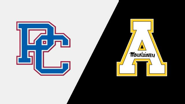 Presbyterian vs. Appalachian State (M Soccer)
