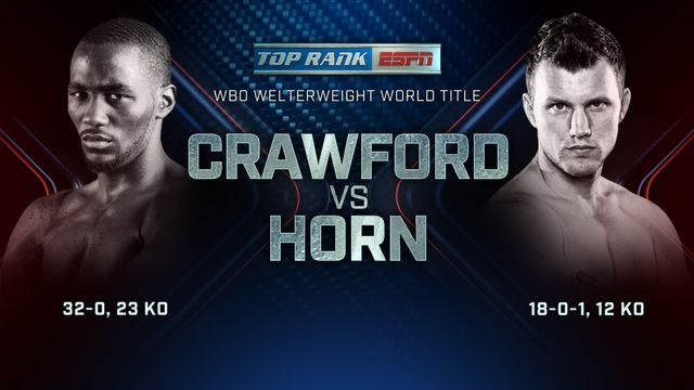 Terence Crawford vs. Jeff Horn: Main Event