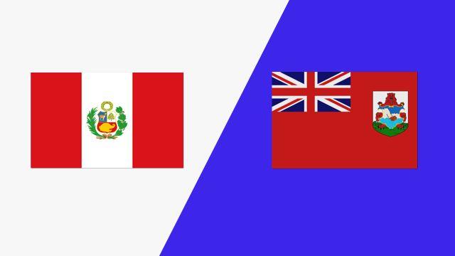 Peru vs. Bermuda (2018 FIL World Lacrosse Championships)