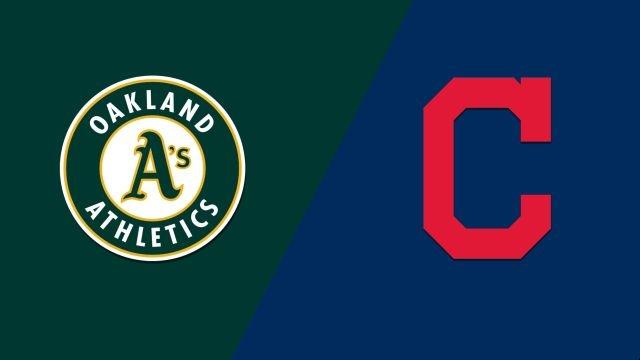 Oakland Athletics vs. Cleveland Indians