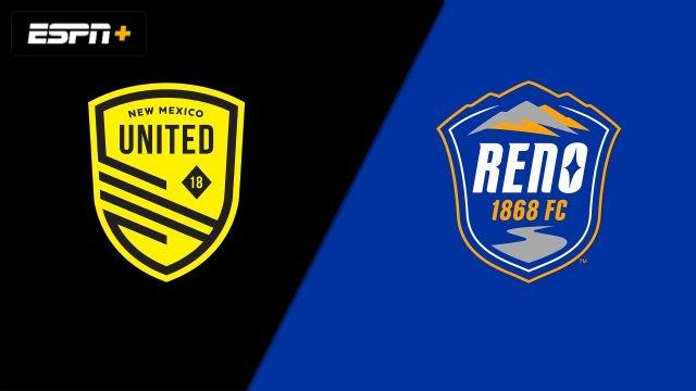 New Mexico United vs. Reno 1868 FC (USL Championship)