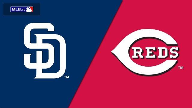 San Diego Padres vs. Cincinnati Reds