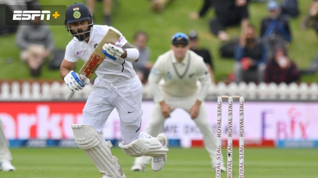 New Zealand vs. India (2nd Test - Day 1)