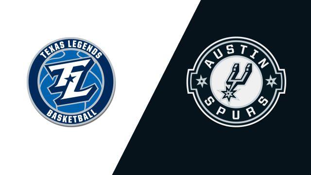 Texas Legends vs. Austin Spurs