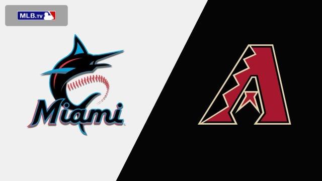 Miami Marlins vs. Arizona Diamondbacks