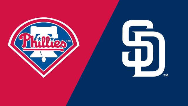 Philadelphia Phillies vs. San Diego Padres