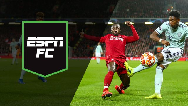 Tue, 2/19 - ESPN FC: Round-of-16 clash at Anfield
