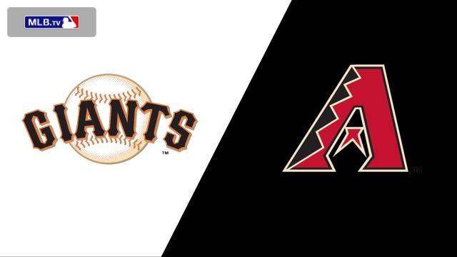 San Francisco Giants vs. Arizona Diamondbacks