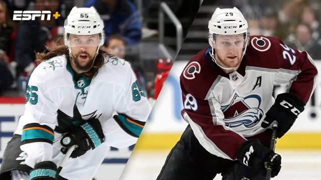 San Jose Sharks vs. Colorado Avalanche