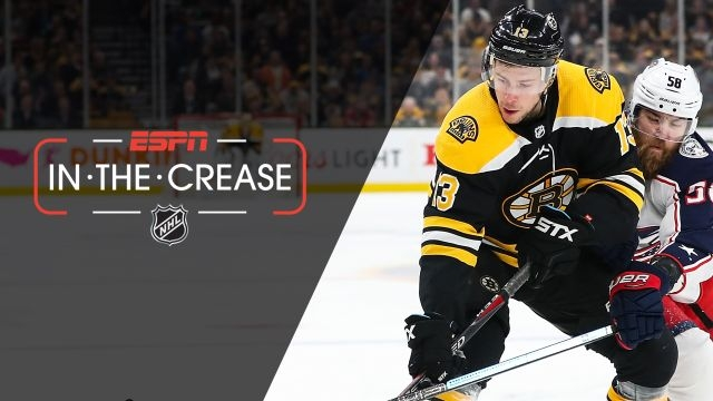 Fri, 4/26 - In the Crease: Bruins-Blue Jackets head to OT