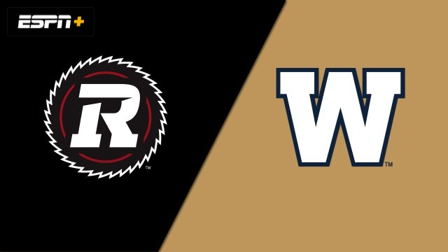 Ottawa Redblacks vs. Winnipeg Blue Bombers (Canadian Football League)