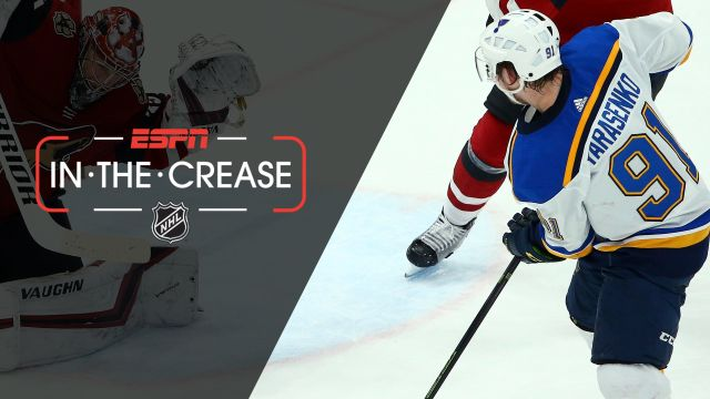 Thu, 2/14 - In the Crease: Blues look to keep rolling
