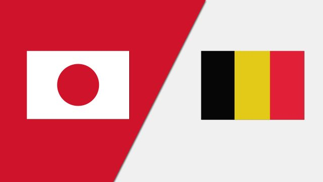 Japan vs. Belgium (Group Phase)