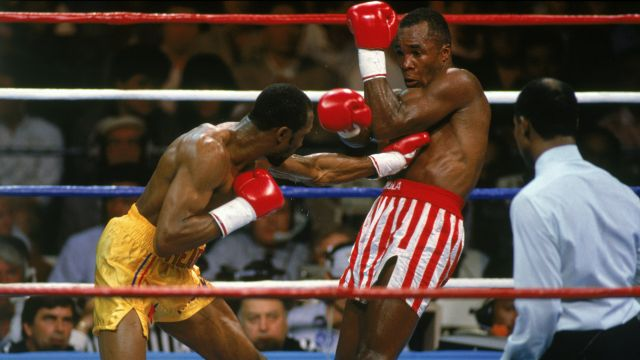 Hearns vs Leonard II