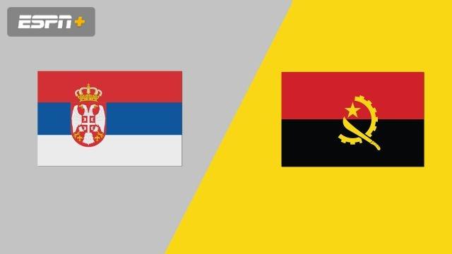 Serbia vs. Angola (Group Phase)