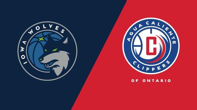 Iowa Wolves vs. Agua Caliente Clippers
