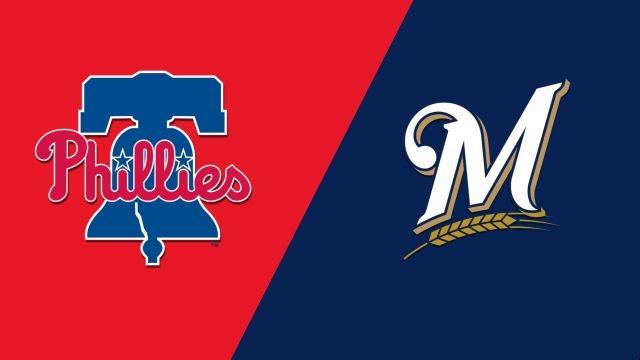 Philadelphia Phillies vs. Milwaukee Brewers
