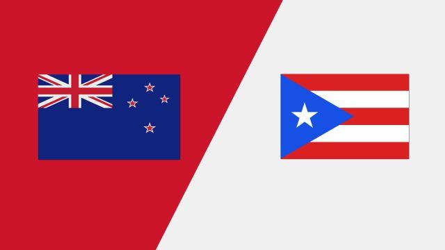 New Zealand vs. Puerto Rico (2018 FIL World Lacrosse Championships)