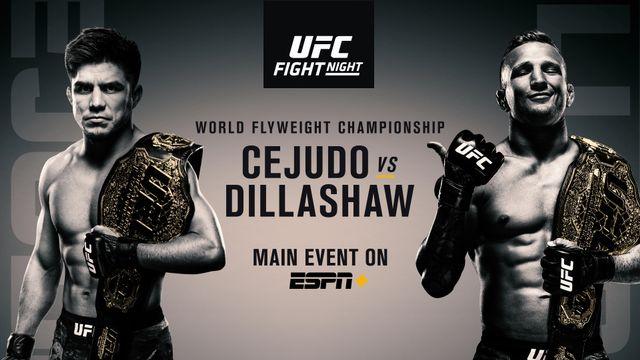 UFC Fight Night: Cejudo vs Dillashaw
