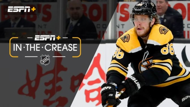 Thu, 2/13 - In the Crease: Pastrnak lights the lamp