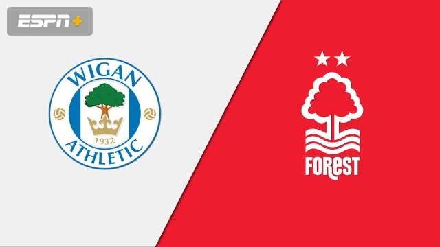 Wigan Athletic vs. Nottingham Forest (English League Championship)