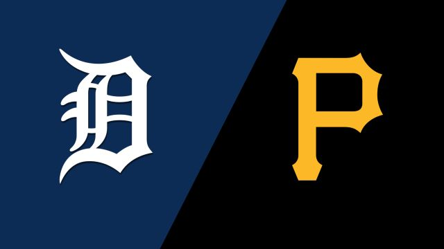 Detroit Tigers vs. Pittsburgh Pirates