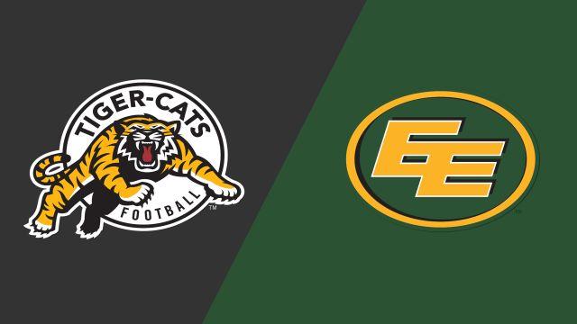 Hamilton Tiger-Cats vs  Edmonton Eskimos