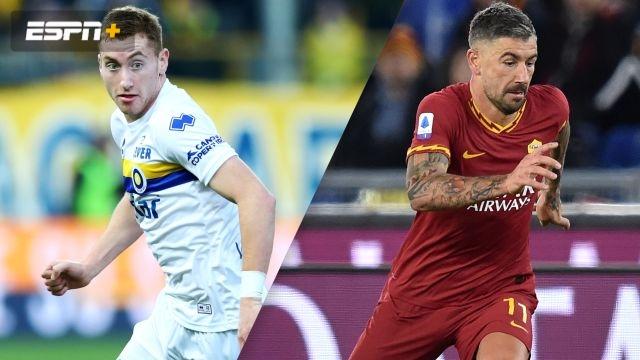 In Spanish-Parma vs. Roma (Octavos de Final) (Coppa Italia)