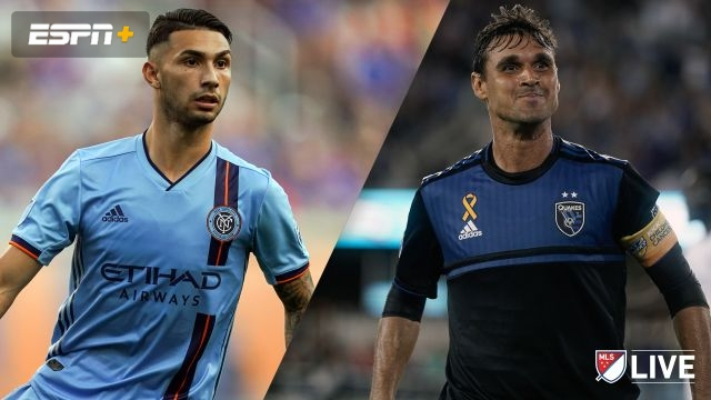 New York City FC vs. San Jose Earthquakes (MLS)
