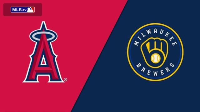 Los Angeles Angels of Anaheim vs. Milwaukee Brewers