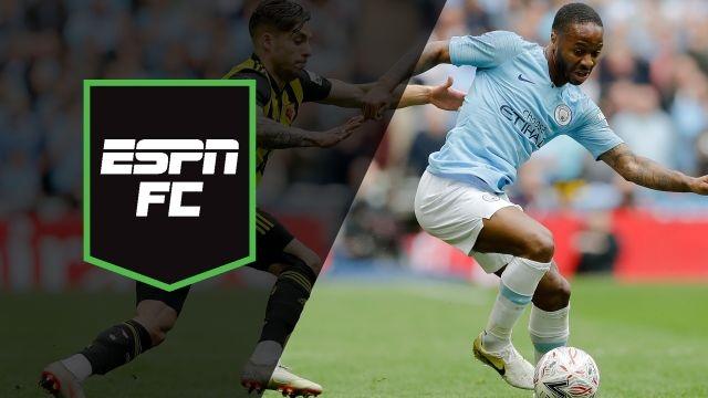 Sat, 5/18 - ESPN FC: Man City seeks history