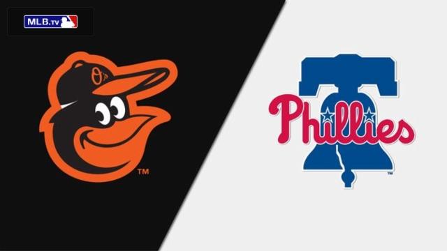 Baltimore Orioles vs. Philadelphia Phillies