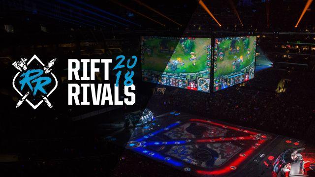 Rift Rivals NA/EU Day 2 Countdown