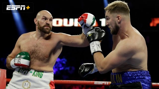 Tyson Fury vs. Otto Wallin (Main Event)