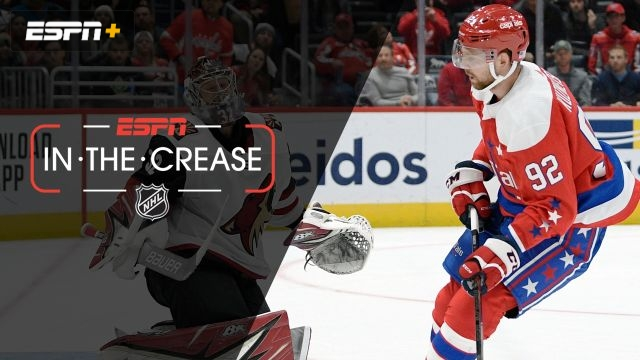 Tue, 11/12 - In the Crease: Coyotes, Capitals need shootout
