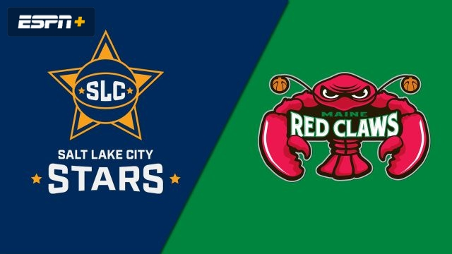 Salt Lake City Stars vs. Maine Red Claws