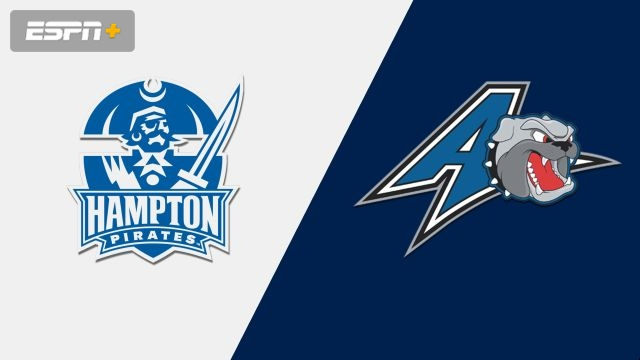 Hampton vs. UNC Asheville (M Basketball)