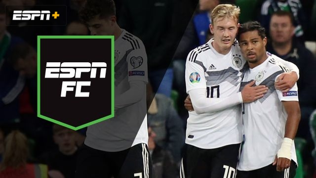 Mon, 9/9 - ESPN FC: Germany feeling the pressure?
