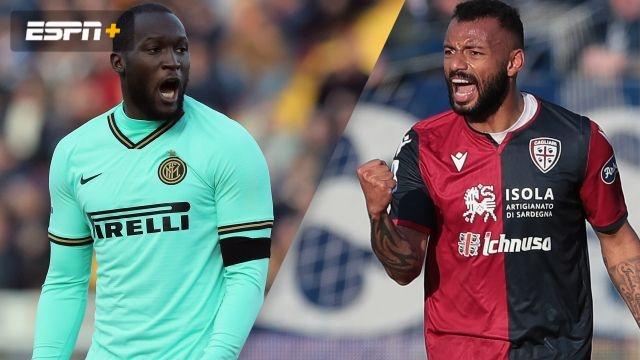 In Spanish-Inter vs. Cagliari (Serie A)