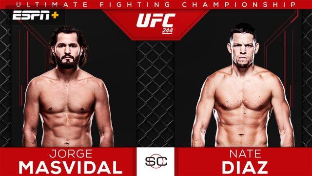 UFC 244 Pre-Show: Masvidal vs. Diaz